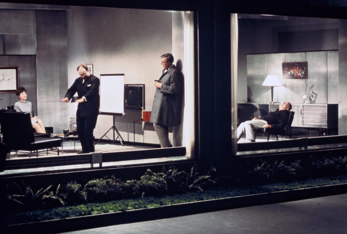 Jacques Tati, Playtime, film still, StudioCanal, 1967. Courtesy Park Circus Limited.
