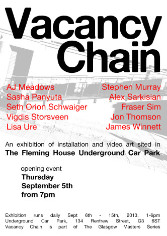 Vacancy Chain - Poster